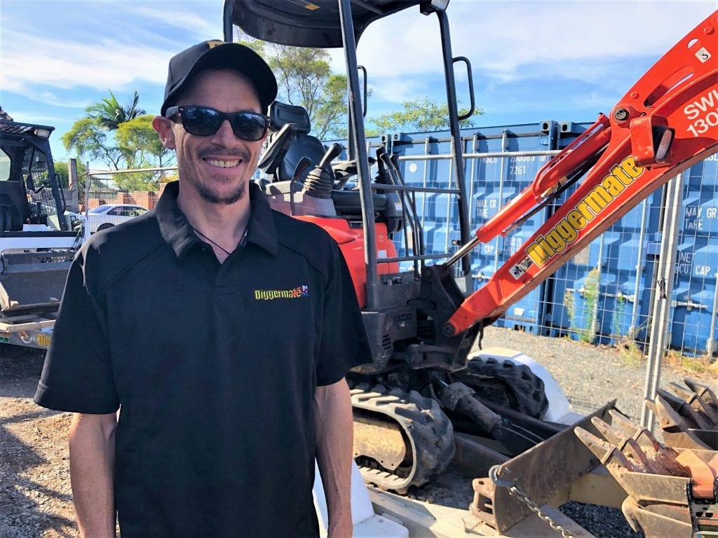 Diggermate Mini Excavator Hire Echuca Franchisee - Phil Gregory