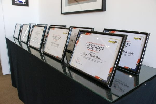 Diggermate Conference Certificate of Appreciation