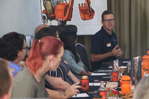 Mick Watkins shares ideas to franchisees
