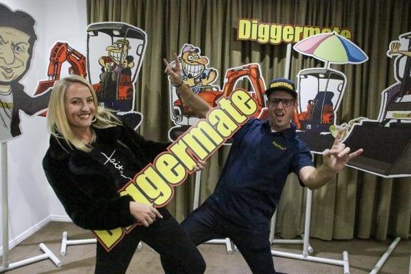 Diggermate Mick and Heidi