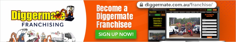 No Excavato Hire Experience? No Worries. You still can own a Diggermate Location
