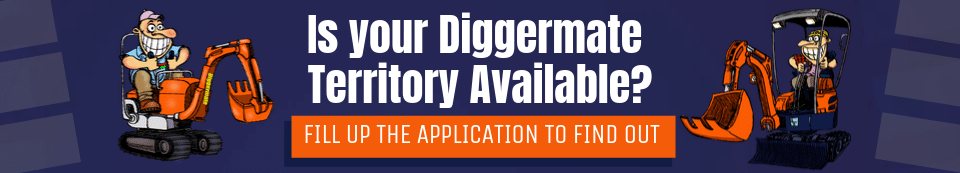 No Excavator Hire experience? You can still become a Diggermate Operator