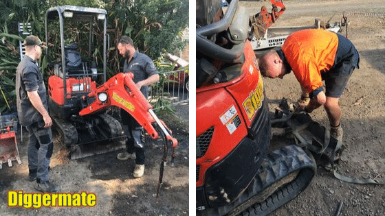 Mini Excavator Hire Franchise - Maintenance