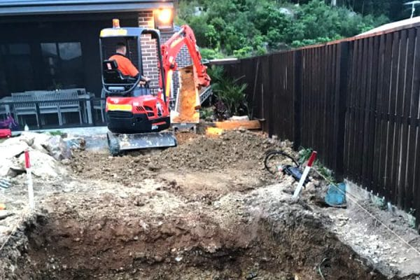 pool dig services