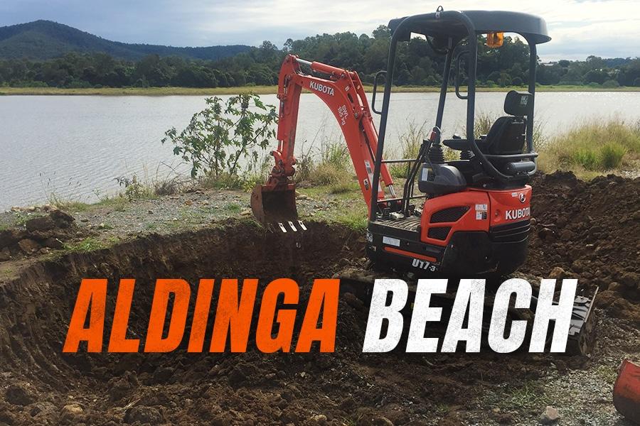 Diggermate Mini Excavator Hire Aldinga Beach