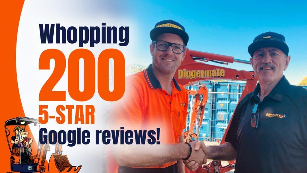 Diggermate North Lakes 200 5-STAR Google reviews